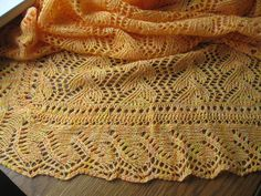 Ravelry: Print O' the Wave Stole by Eunny Jang