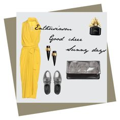"""""""Primrose yellow"""" by madamejk on Polyvore featuring мода, Rick Owens, Max&Co., Sarah Baily, SOKO и Marc Jacobs"""