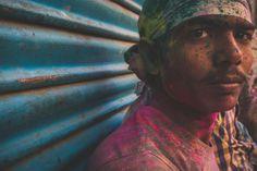 Holi Festival - Vrindavan © Nikolaz Godet