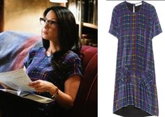 Elementary season episode Joan Watson's (Lucy Liu) plaid tunic dress is the Preen Line Kensal Tartan-Print Dress Lucy Liu, Professional Outfits, Young Professional, Plaid Tunic, Autumn Winter Fashion, Beautiful Outfits, Fashion Forward, Nice Dresses, Style