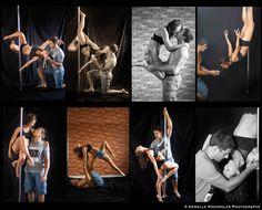 Séance engagement E & E ... Pole dance et Amour ;-)