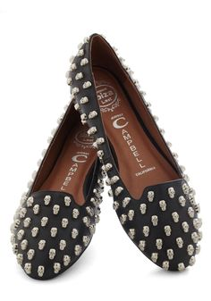 Business Skulls Flat by Jeffrey Campbell