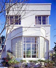 Tulsa, Oklahoma, the Ungerman Residence at 1718 East 37th Street. Built: 1941