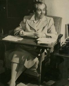 Gabriela Mistral -   Chilean poet-diplomat, educator and humanist.