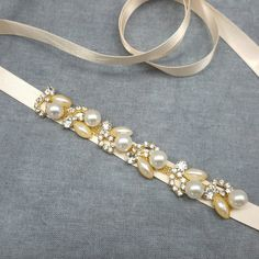Bridal Belt Sash, Thin Gold Bridal Belt, Wedding Belt, Gold Wedding... ($25) ❤ liked on Polyvore featuring accessories, belts, rhinestone belt, bridal sash belt, rhinestone bridal belt, round belt and rhinestone studded belt