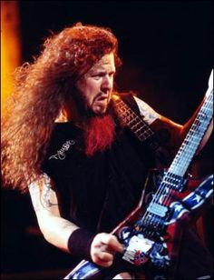 Dimebag Darrell...one of the greatest metal guitarists that ever lived...too bad some whack job had to go on stage and kill him exactly 24 years after another whack job killed John Lennon.