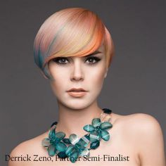 Derrick-Zeno-Global Partner Colorist/ Goldwell 2013 Color Zoom U.S. Semi-Finalists