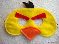 Angry Birds Felt Mask inspiration. Something to do!