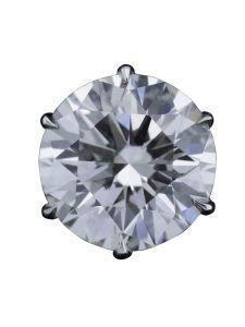 Boucles d'oreilles Montega - Elie Chatila, or blanc, diamants, BOR 800.531