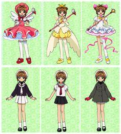 Cardcaptor Sakura, Cosplay Characters, Anime Characters, Chica Anime Manga, Anime Art, Anime Kiss, Sakura Card Captors, Sakura Cosplay, Girls Anime