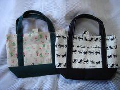 ☆切り替えミニトートバッグ☆の作り方|バッグ|ファッション小物|アトリエ