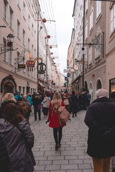 Visiting the Christmas Markets in Salzburg