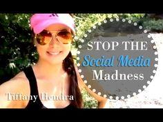 STOP THE SOCIAL MEDIA MADNESS w/ Tiffany Hendra