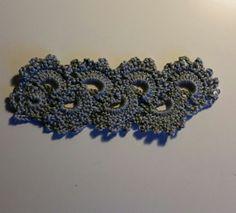 Crocheted bracelet www. Crochet Bracelet, Bracelets, Pattern, Crafts, Jewelry, Design, Bangles, Jewellery Making, Manualidades