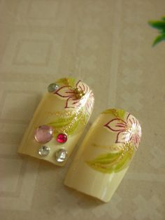 12pcs DIY 3D Fake Nails by Flirtynails by flirtynails on Etsy, $12.00