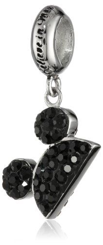 "Disney Stainless Steel Mickey Crystal Dangle ""Believe in Magic"" Bead Charm Disney http://www.amazon.com/dp/B00FMTJ3PM/ref=cm_sw_r_pi_dp_E1UQtb1GDYTKK3QF"