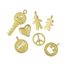 Assorted Gold Charms – Eden Presley Fine Jewelry