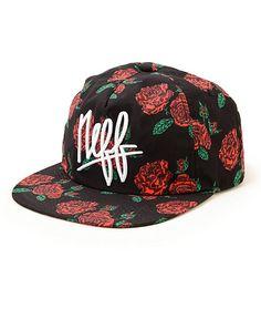 22e10457e24ce Neff Hazy Floral Snapback Hat