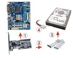 Как подключить IDE жесткий диск к новой материнской плате? | F1-IT Monopoly