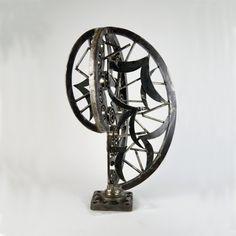 Διακόσμηση σπιτιού με γλυπτά από μέταλλο του Γιάννη Δενδρινού, γλύπτης και κατασκευαστής διακοσμητικών ειδών industrial Metal Art Sculpture, Sculptures For Sale, Art For Sale, Home Appliances, House Appliances, Appliances