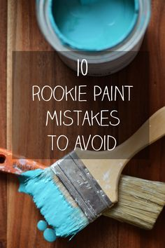 Avoid these 10 common interior paint mistakes to make your DIY painting job a breeze! Interior painting tips for beginners.