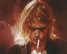 by Sebastian Krüger - K. Cobain portrait