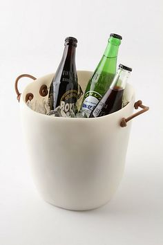 Anthropologie ice bucket