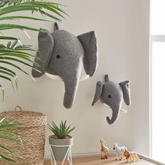 Elephant Wall Head