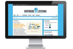 Vetriebsinformationen sowie Marketing- und Wirtschaftsnews gibt es jetzt in neuem Gewand gebündelt und allumfassend unter vertriebszeitung.de. Und wer hats gemacht? klok! www.vertriebszeitung.de