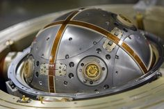 An inertial guidance and gyroscope assembly from a nuclear missile.