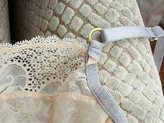 Tip for stabilizing bra strap loop | Cloth Habit
