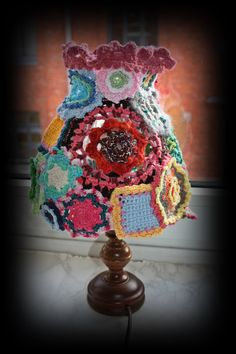 what to do with crochet flowers