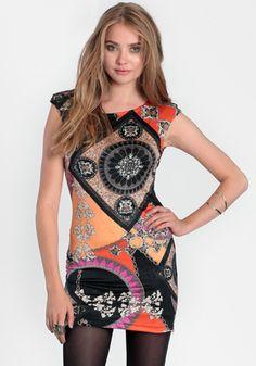 New Kingdom Printed Dress #threadsence #fashion Shop here: http://www.threadsence.com/new-kingdom-printed-dress-p-6289.html?utm_source=pinterest_medium=sm_content=New%2BKingdom%2BPrinted%2BDress_campaign=pin_product