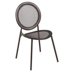 Silla Antonietta de metal para terraza cafetería