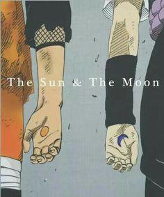 Naruto and Sasuke - Naruto Shippuuden