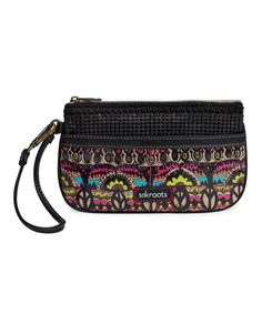 Take a look at this Neon One World Wristlet on zulily today!