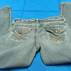 A.N.A. A New Approach boot cut blue jeans size 10 These jeans are in good condition with normal signs of wear. a.n.a Jeans Boot Cut