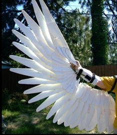Photo: Realistic Wing Costume Tutorial very detailed project but very well explained if you are interested in making these wings you will love the photos and instructions. Follow these links > http://sunnybrook1.deviantart.com/art/WIP-Realistic-Wings-174070825 http://pinterest.com/source/sunnybrook1.deviantart.com/