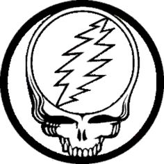 Grateful Dead Coloring Pages Free Google Search Patches Grateful Dead Colorong Pages