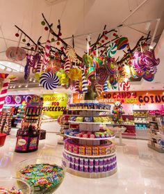 From New York to Paris to Barcelona and more, the best candy shops in the world.