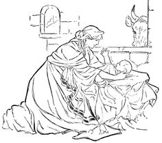 Joshua Bible Story Coloring Page Joshua was called upon to