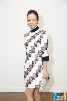 Zhang Ziyi and Angelababy at fashion event | China Entertainment News