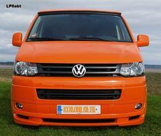 VW Transporter 2010 onwards front bumper spoiler add-on Vw Camper, Campers, Vw T4 Syncro, Vw Vans, Aftermarket Parts, Custom Vans, Volkswagen, Transportation, Tech