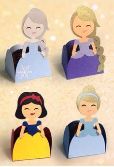 Porta trufas princesas Disney