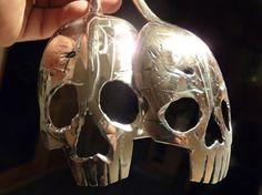 Pinky Diablo Skull Spoon