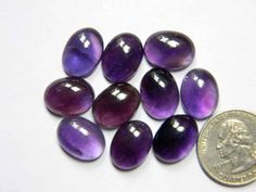 10 Pieces 16x12 mm Oval Amethyst Cabochon Gemstones Smooth Amethyst Gemstone, Smooth, Gemstones, Trending Outfits, Unique Jewelry, Handmade Gifts, Etsy, Vintage, Kid Craft Gifts