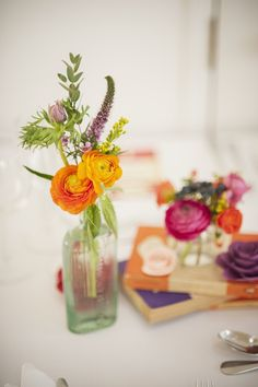 The meaning of orange wedding flowers