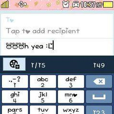 Nice Fonts for Samsung Corby 2