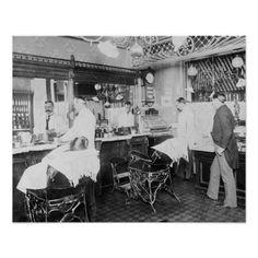 Barbershop, New York City, 1895
