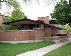 The Frederick C. Robie House in Hyde Park is located on the University of Chicago's campus. Created by famous architect Frank Loyd Wright, this Prairie style home was built in 1910 and considered a leader of modern architecture. Now a museum, visitors can tour the site Thursday through Monday.